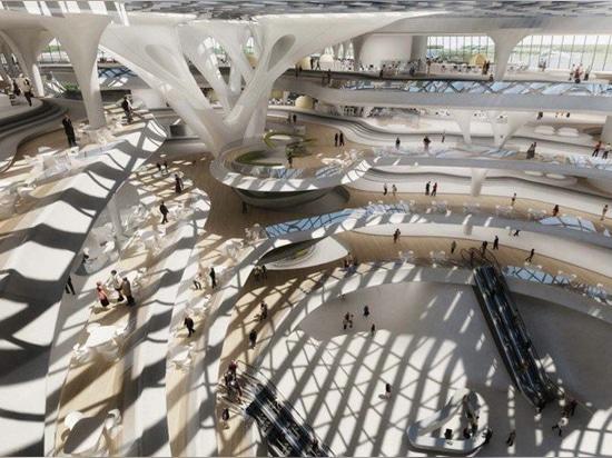 zaha hadid Architekten empfängt Baugenehmigung, beträchtliches technopark in Moskau zu errichten