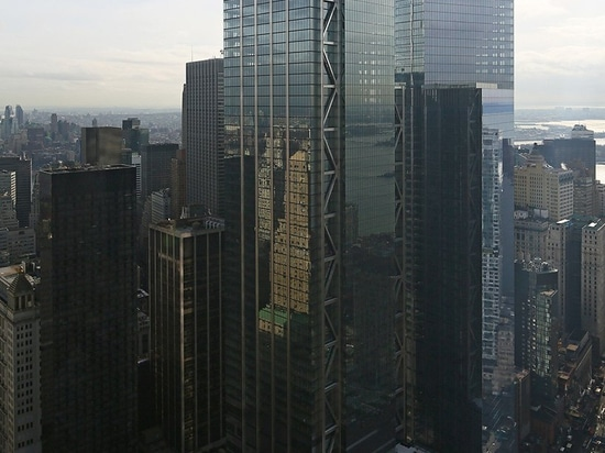 World Trade Center-Turm durch Rogers-stirk Hafen + Partner öffnet sich in New York