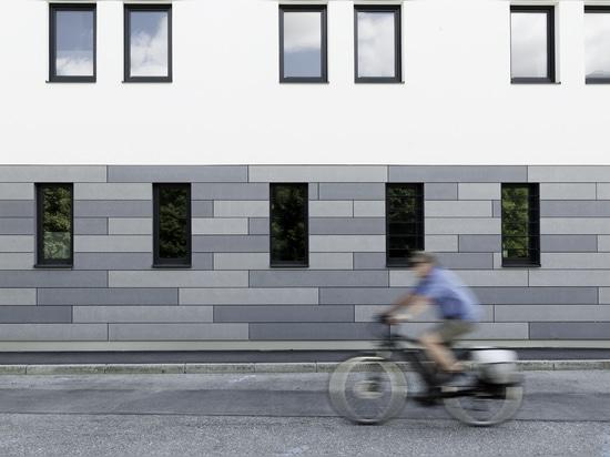 Fassade aus Glasfaserbeton