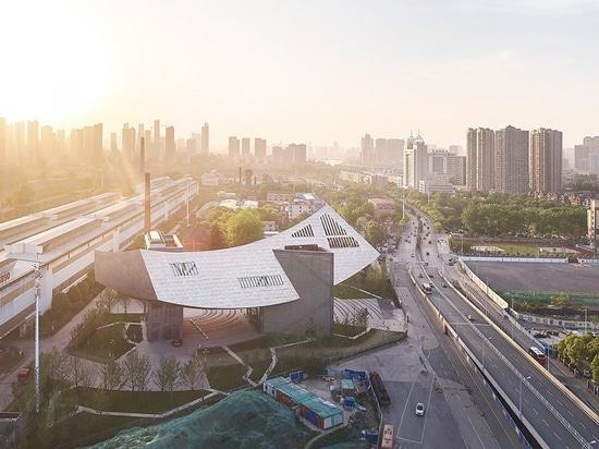 das erste Projekt Daniel-libeskinds im Porzellan ist ein Arche ähnliches Museum des Kehrens in Wuhan