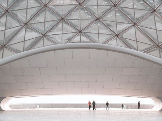 das Harbin-Opernhaus der WÜTENDEN Architekten andrés gallardo Fotografien in der Eisstadt des Porzellans
