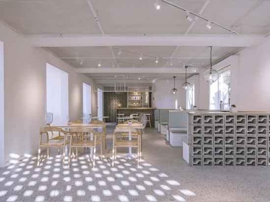 Entwurf Glimmer-Stange/3andwich/er Wei Studio