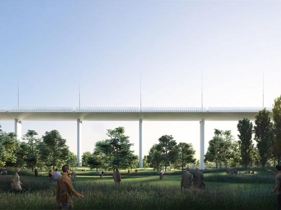 Renzo Piano stellt Entwurf für folgenden Unfall neuer Genua-Brücke vor