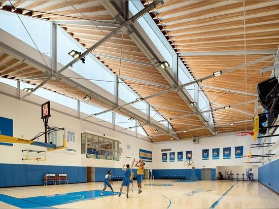 Kevin Daly Architects errichtet gekrümmten Komplex für Basketball-Teams UCLAS