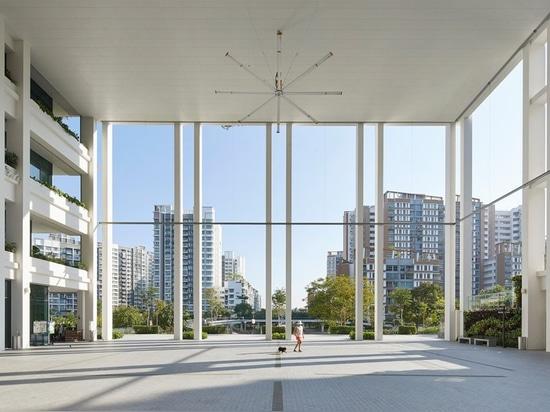 serie und Architekten multiplizieren, ländlich idyllisch 'Oasenterrassen' in Singapur abzuschließen