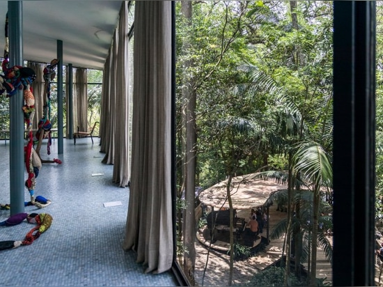 casa de Vidro' bardis Lina BO 'begrüßt Sommerpavillon durch Solenoid-camacho