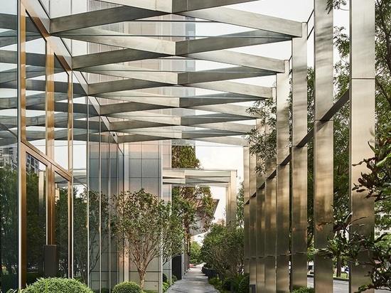 'Schatzgarten' Bezugsdreißiger jahre Antonio-citterio Patricia-viels italienischer Entwurf in Taiwan