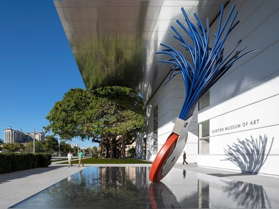 Pflege + debütiert Partner seine Umwandlung des norton Kunstmuseums in West Palm Beach