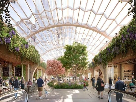 heatherwick Studio und SPPARC erhalten grünes Licht für London-Überholung der Olympia £1 Milliarde