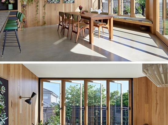 Zusätzlicher Lebensraum wurde diesem sechziger Jahre australischen Haus hinzugefügt