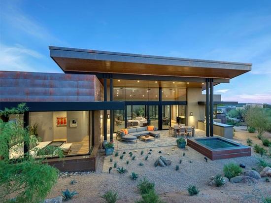 Der gemalte Himmel-Wohnsitz durch Kendle-Entwurf kooperativ