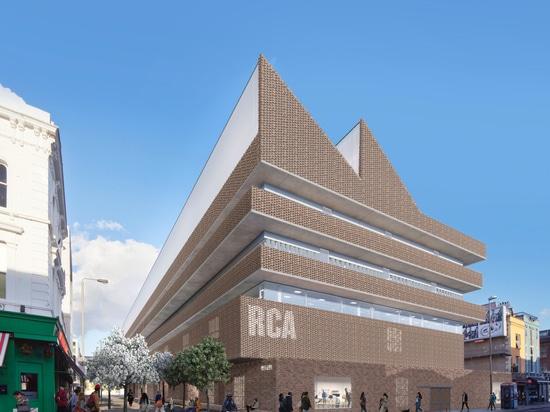 Royal College der Kunst in London kündigt an, dass Herzog & de Meuron-Gebäude und Kensington-Campus erneuern