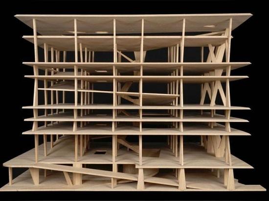 Herzog & de Meuron-Geschenksammlung Architekturskizzen und Modelle zu MoMA