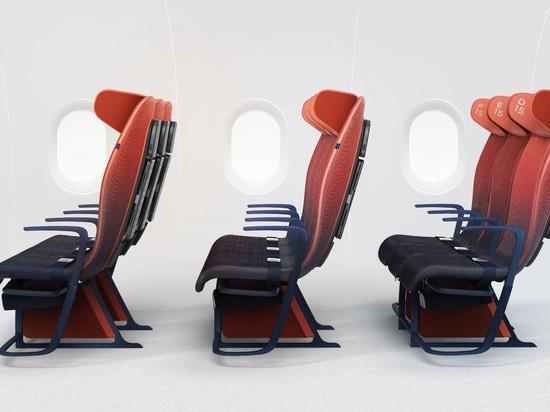 Sitzplätze der intelligenten Bewegung der Schicht für Airbus passen den Passagieren den Bedarf an