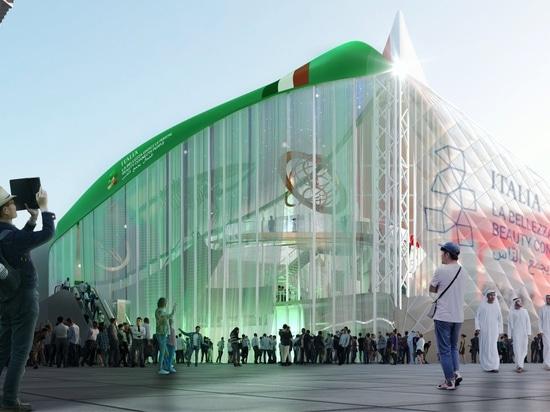 CRA-Carlo Ratti Associati, Italo Rota Building Office, Matteo Gatto & Associati und F&M Ingegneria gewinnen Wettbewerb für den italienischen Pavillon auf der Expo Dubai 2020