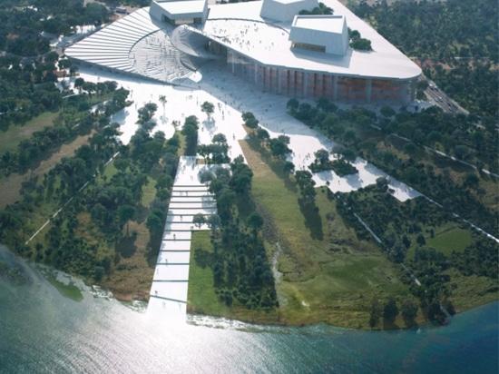 Snøhetta beauftragt mit dem Entwurf der Großen Oper Shanghai