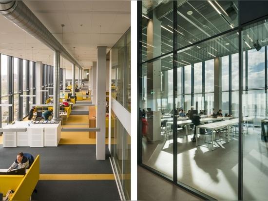 Atlas vom Team V Architekturpreis ausgezeichnet mit dem Preis für intelligentes und nachhaltiges Universitätsgebäude