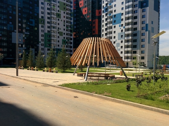 Wohnkomplex an der Autobahn Dmitrovskoe, Moskau