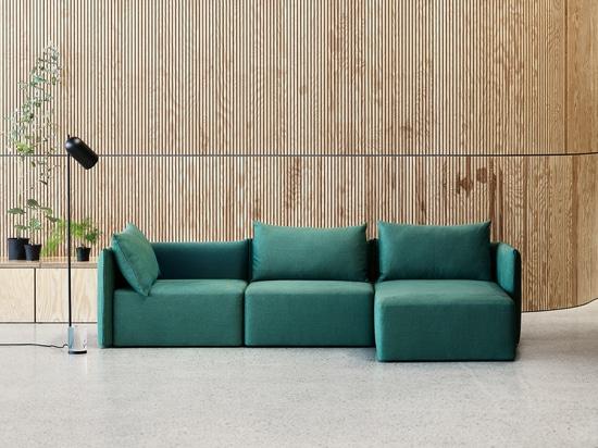 Neues minimalistisches Sofa von SOFTLINE