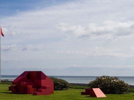 Bjarke Ingels und Simon Frommenwiler bauen Puzzlehaus in Kopenhagen