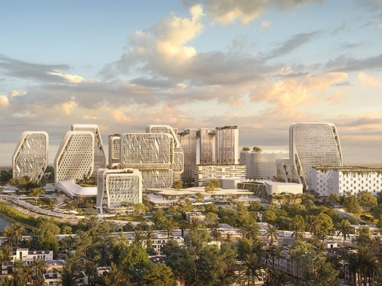 UNStudio masterplans smart city in Bangalore