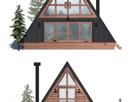 AYFRAYM ist ein erschwingliches A-Frame'cabin-in-a-box' Konzept