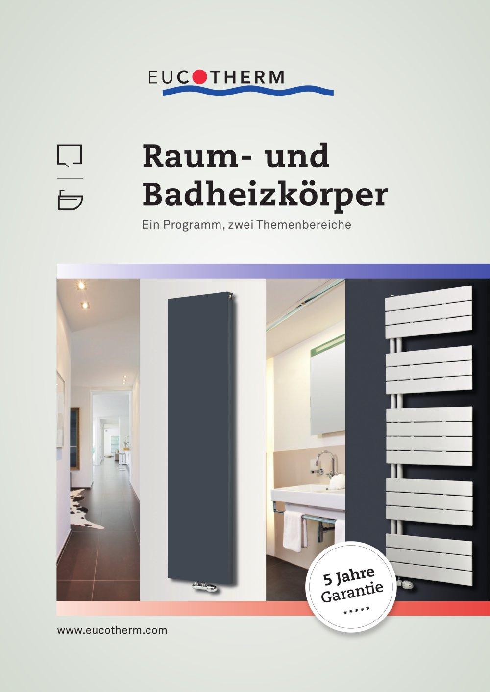 Raum Und Badheizkörper Eucotherm Pdf Katalog Beschreibung