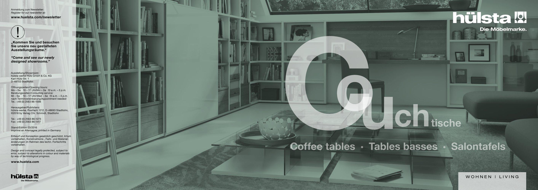 Coffee Tables Hülsta Pdf Katalog Beschreibung Prospekt