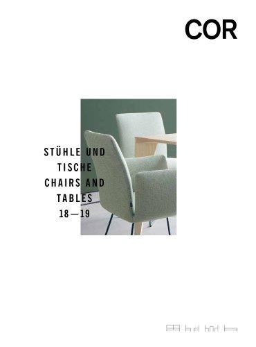 Cor Stühle Und Tische 20182019 Cor Pdf Katalog Beschreibung
