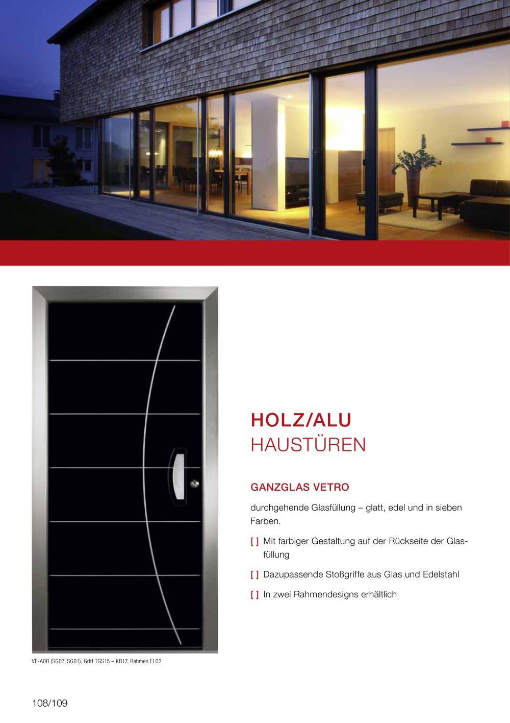 HOL Z/ALU HAUSTÜREN - Internorm - PDF Katalog | Beschreibung | Prospekt