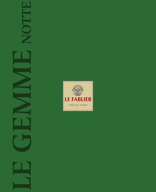LE GEMME NOTTE - LE FABLIER - PDF Katalog | Beschreibung | Prospekt