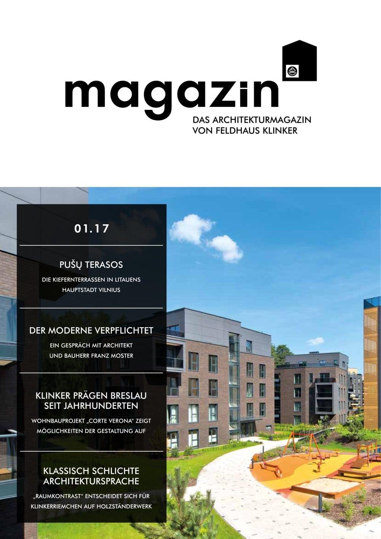 DAS ARCHITEKTURMAGAZIN VON FELDHAUS KLINKER - Feldhaus Klinker - PDF ...