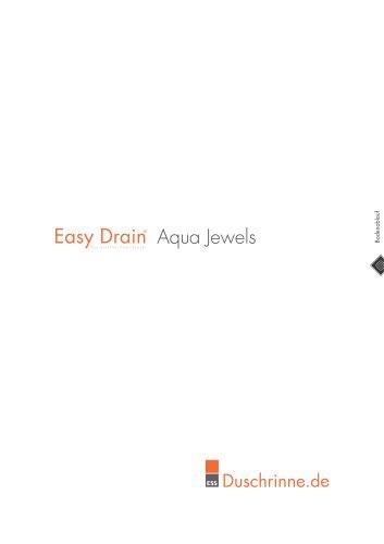 Easy Drain Aqua Jewels