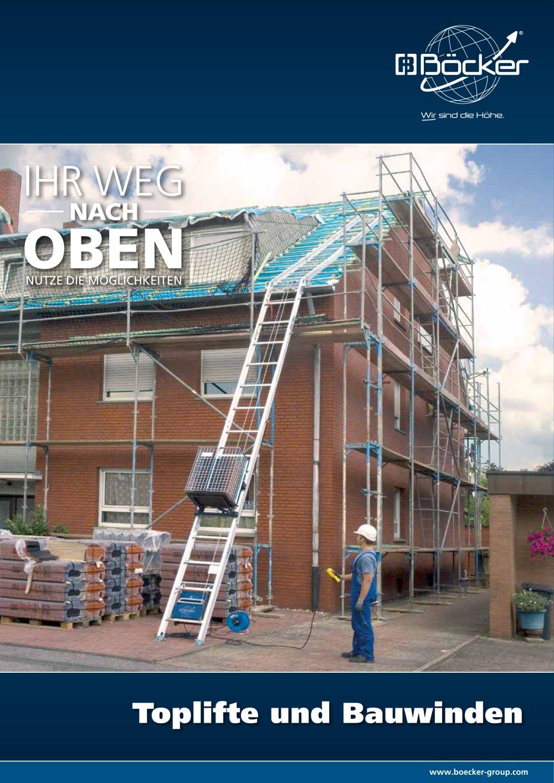 Toplifte & Bauwinden - Böcker - PDF Katalog   Beschreibung   Prospekt