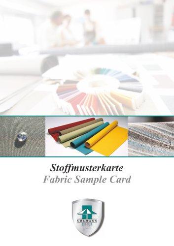 Uhlmann Stoffmusterkarte Sunacryl