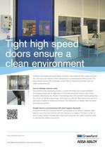 Crawford, High speed doors Airtight