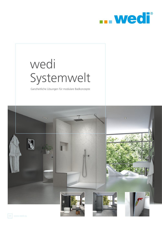 Wedi Emsdetten wedi systemwelt wedi gmbh pdf katalog beschreibung prospekt