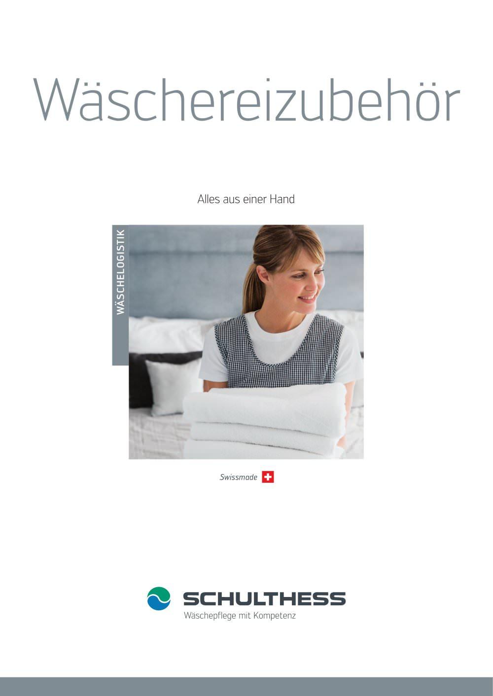 Wäschereizubehör Schulthess Pdf Katalog Beschreibung Prospekt