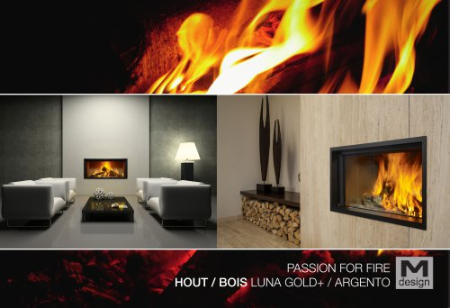 HOUT / BOIS LUNA GOLD+ / ARGENTO