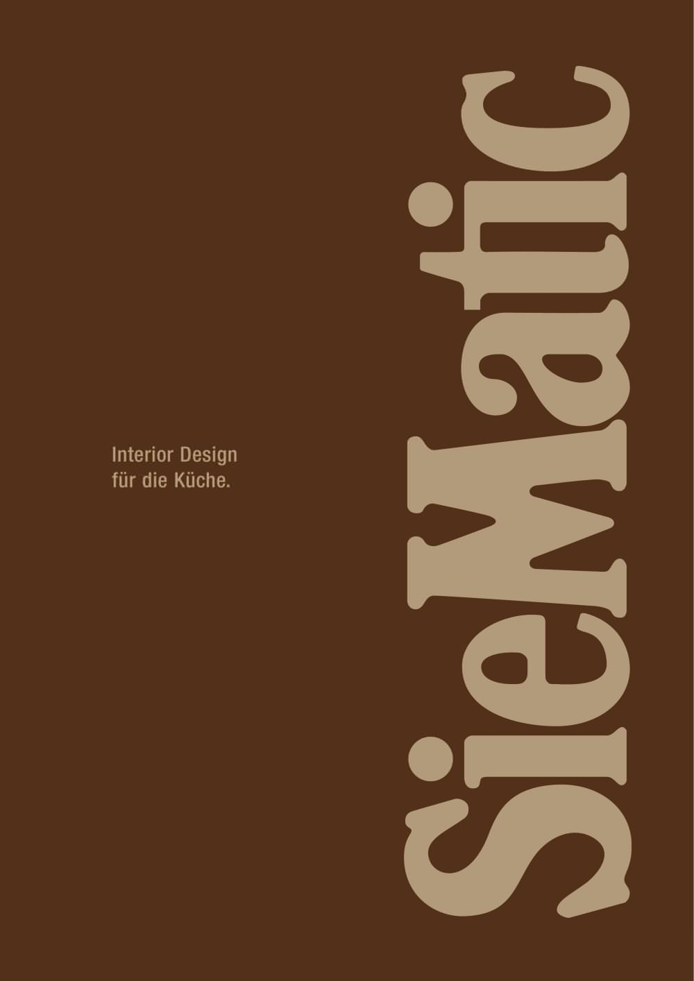 interior design für die küche - siematic - pdf katalog ... - Küche Beschreibung
