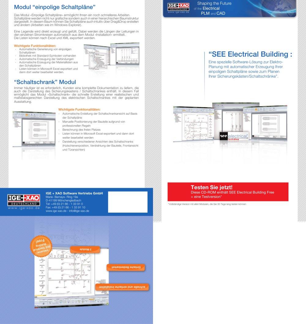 SEE Electrical Building - IGE+XAO - PDF Katalog | Beschreibung ...