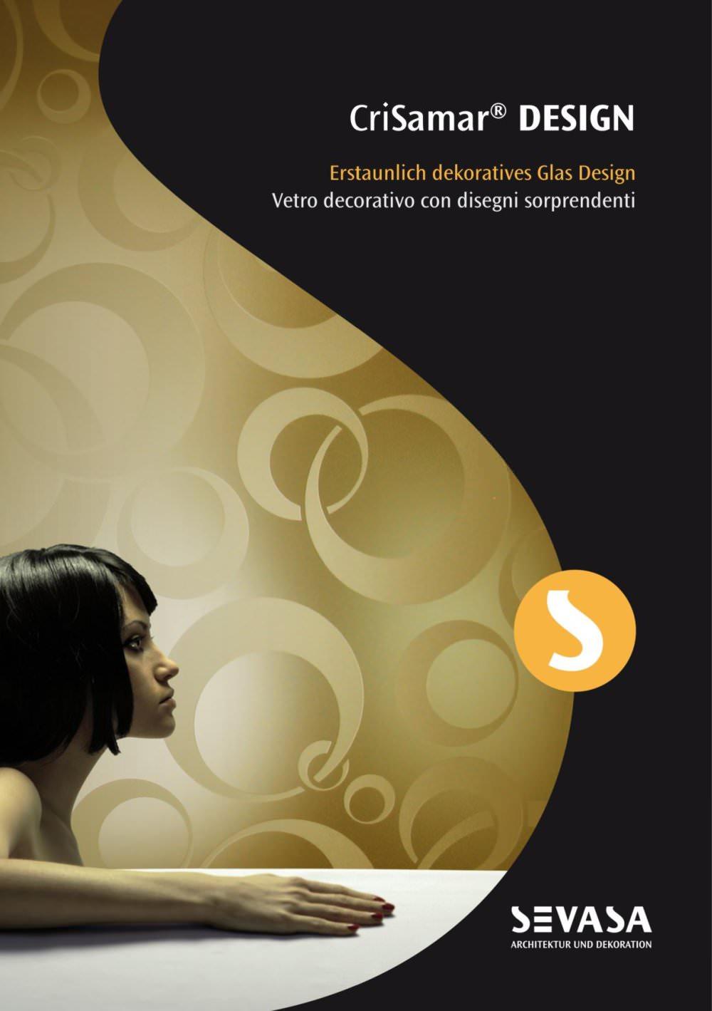 CriSamar DESIGN - Erstaunlich dekoratives Glas Design - SEVASA - PDF ...