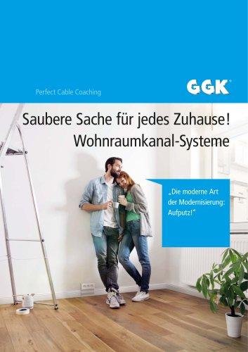"Inspirationsbroschüre ""Wohnraumkanal-Systeme"""