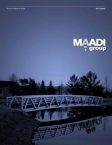 MAADI Group Aluminum Pedestrian Bridge Catalog