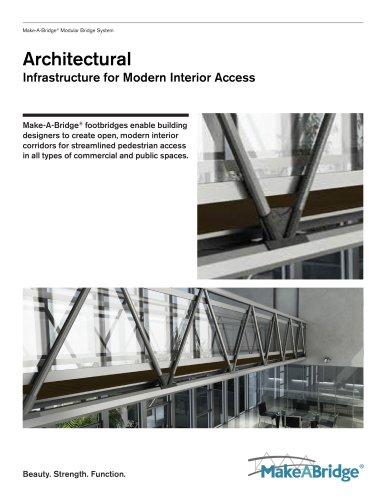 Make-A-Bridge® Modular Bridge - Architectural