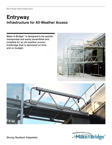 Make-A-Bridge® Modular Bridge - Entryway