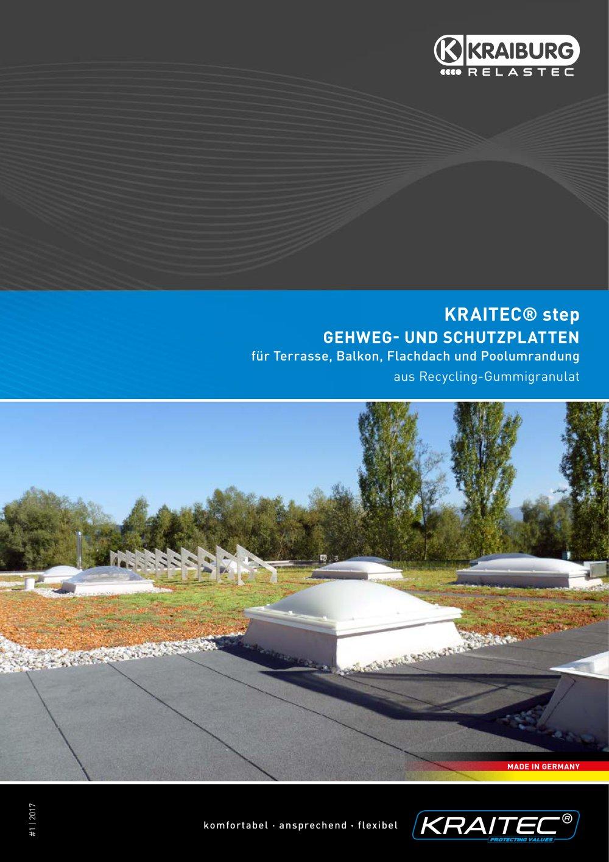 Kraitec Step Gehweg Und Schutzplatten Fur Terrasse Balkon