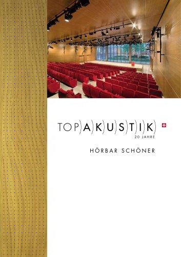 TOPAKUSTIK - Optimierte Raumakustik aus Holz