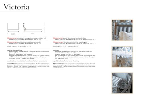 Letti - MASTRO RAPHAËL - PDF Katalog | Beschreibung | Prospekt