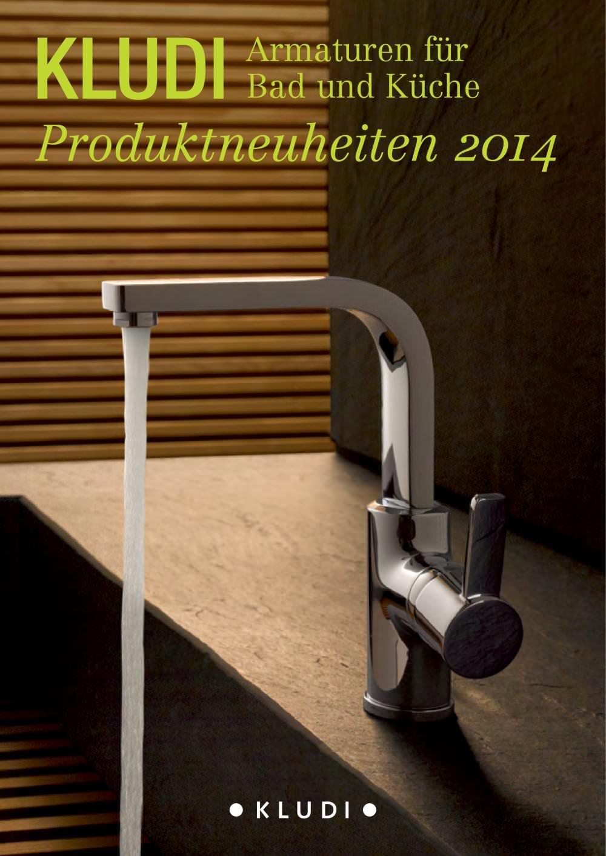 Armaturen für Bad und Küche Produktneuheiten 2014 - KLUDI - PDF ...
